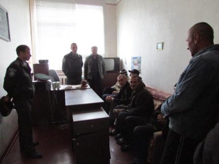 Підтримка хворих на ТБ ув'язнених, які звільняються з місць позбавлення волі