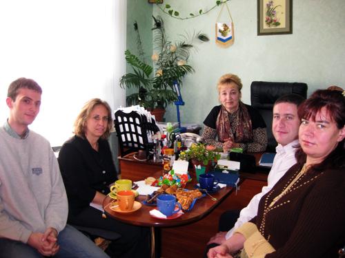 Делегация UNDP в Херсоне