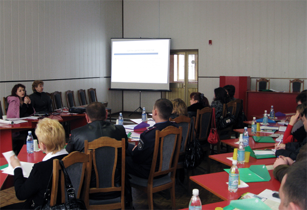 Семинар для начальников отраслевых служб УМВД в Херсонской области